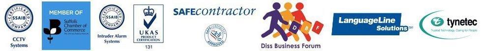 SAFEcontractor UKAS logos
