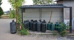gas per riscaldamento