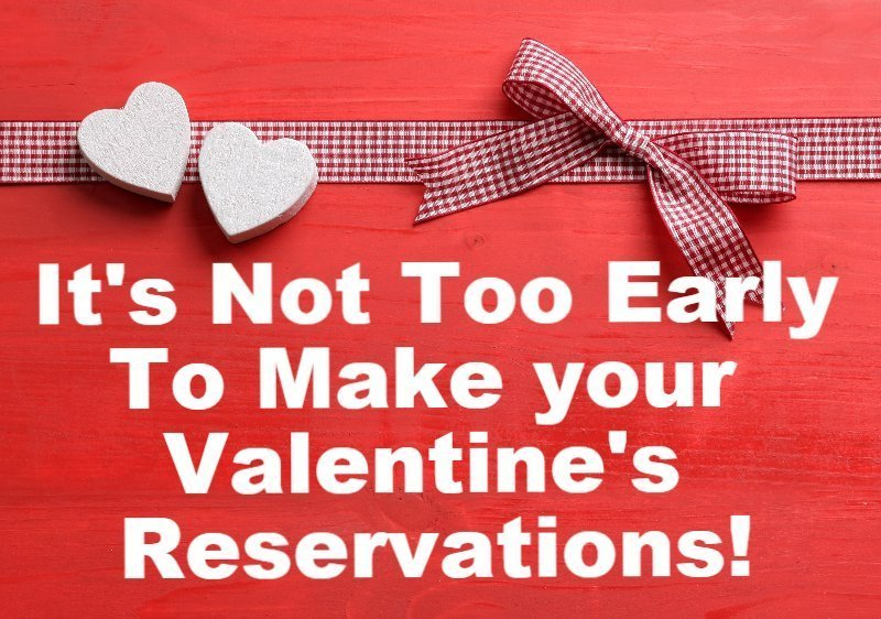 make your Valentines day reservation today and enjoy dinner and dancing with The New Yonkers at pm