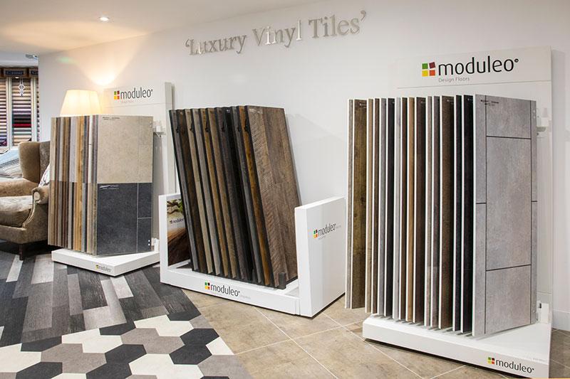 Huge range at County flooring & supplies