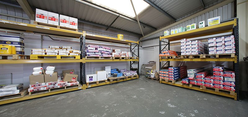 County flooring & supplies warehouse