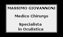 Massimo Giovannoni medico chirurgo