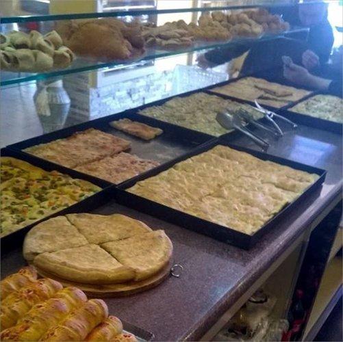 teglie di pane e salato