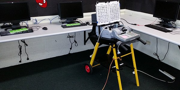 australian compliance test and tag our testing equipment at work
