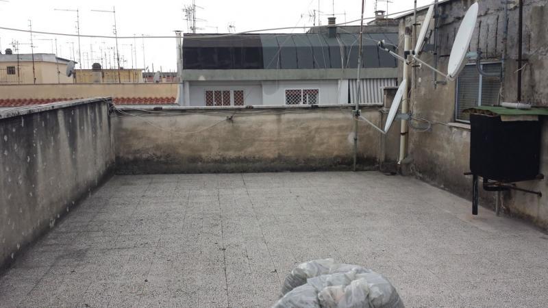 un terrazzo da ristrutturare e impermeabilizzare