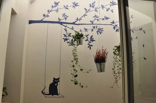 decorazione su un muro