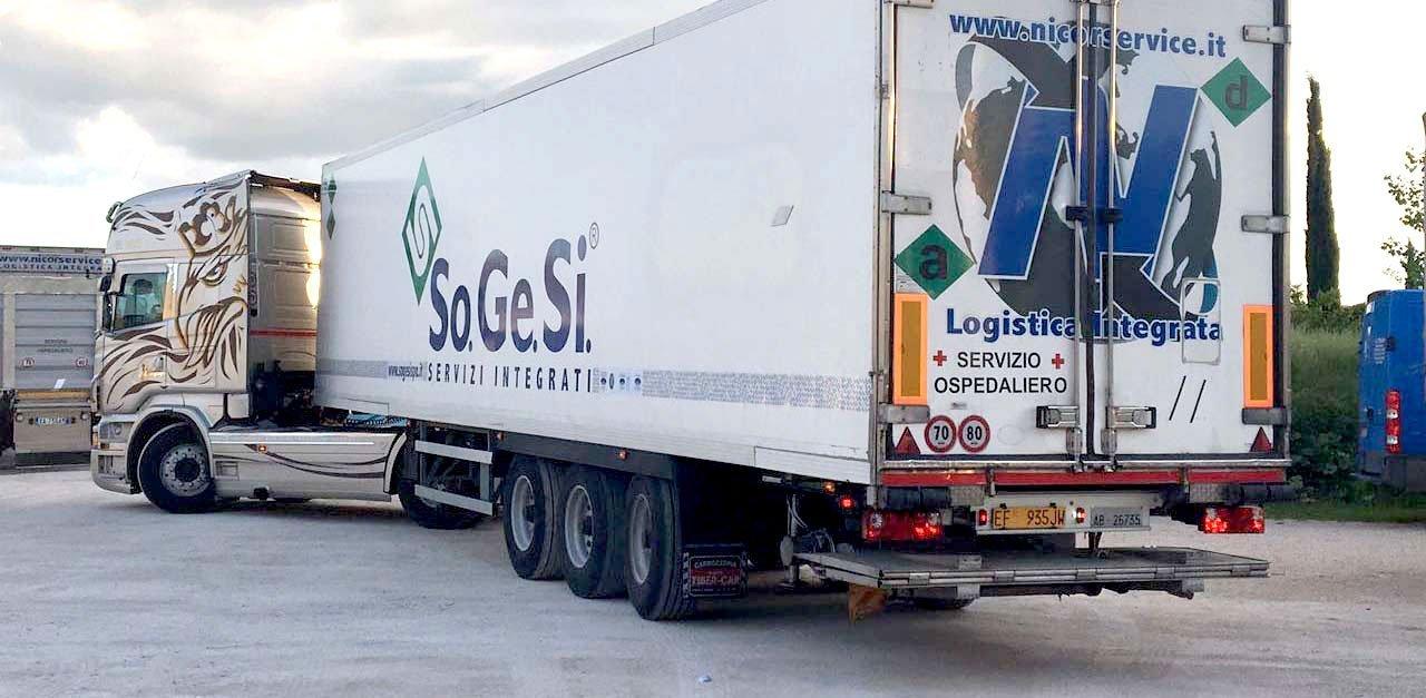 trasporto e distribuzione biancheria