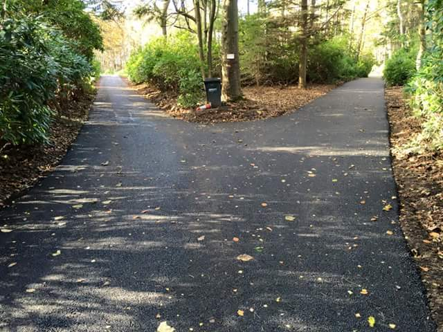park area asphalted
