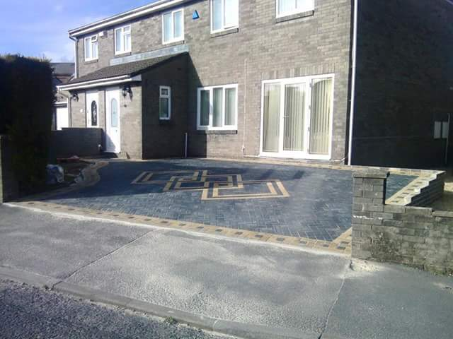 home exterior paving
