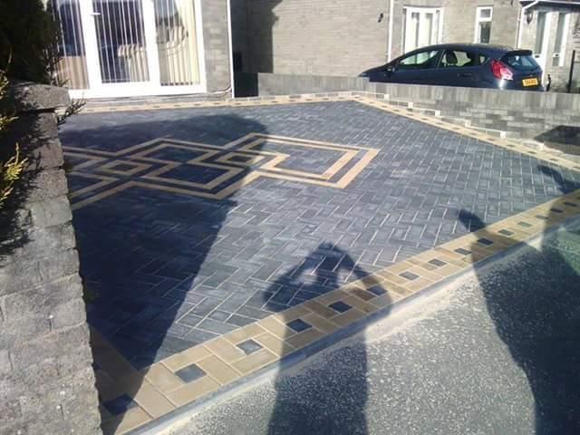 high-quality domestic paving