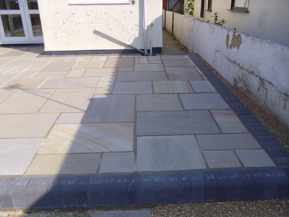 terrace paving
