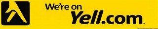 We're on Yell.com logo