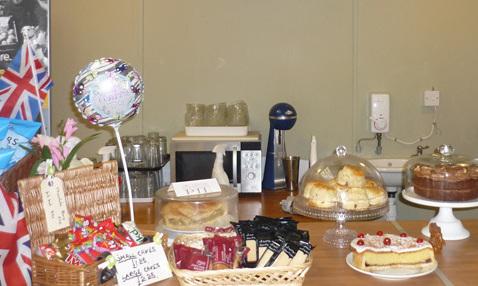 Tea room in Swineashead