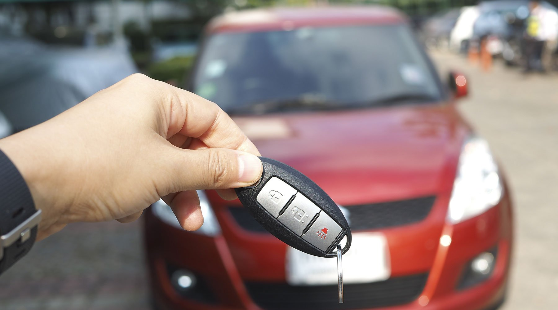 noleggio auto chiavi in mano