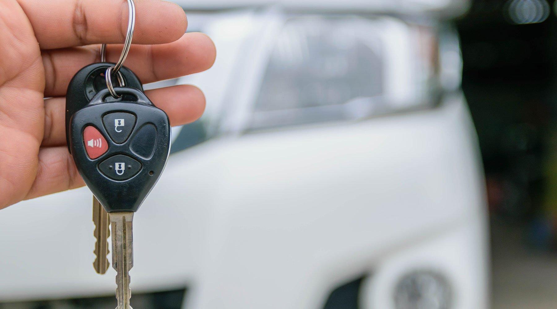 rilascio chiavi per noleggio auto