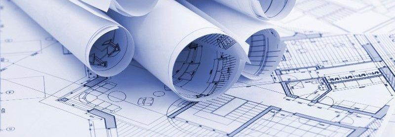 Blueprint of a building