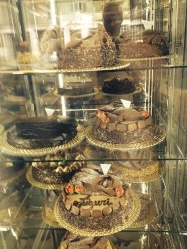 Delle torte presentate