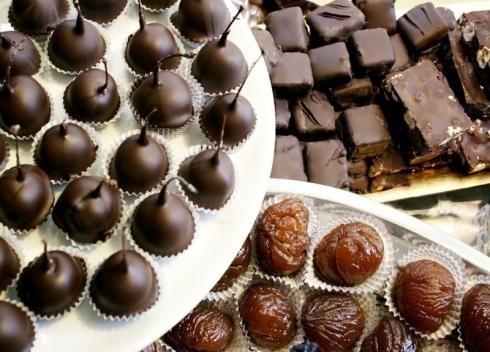 Fichi ricoperti di cioccolato