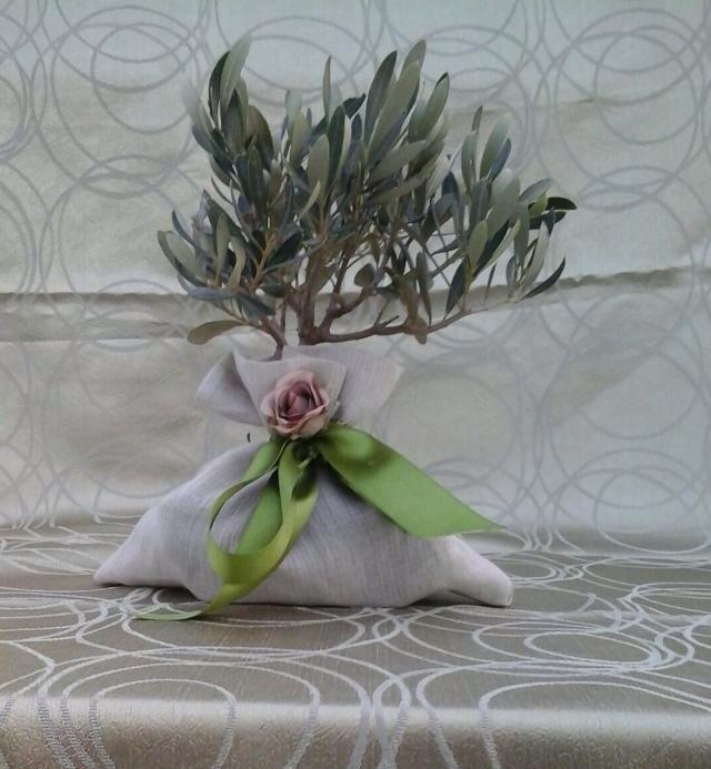 segnaposto pianta