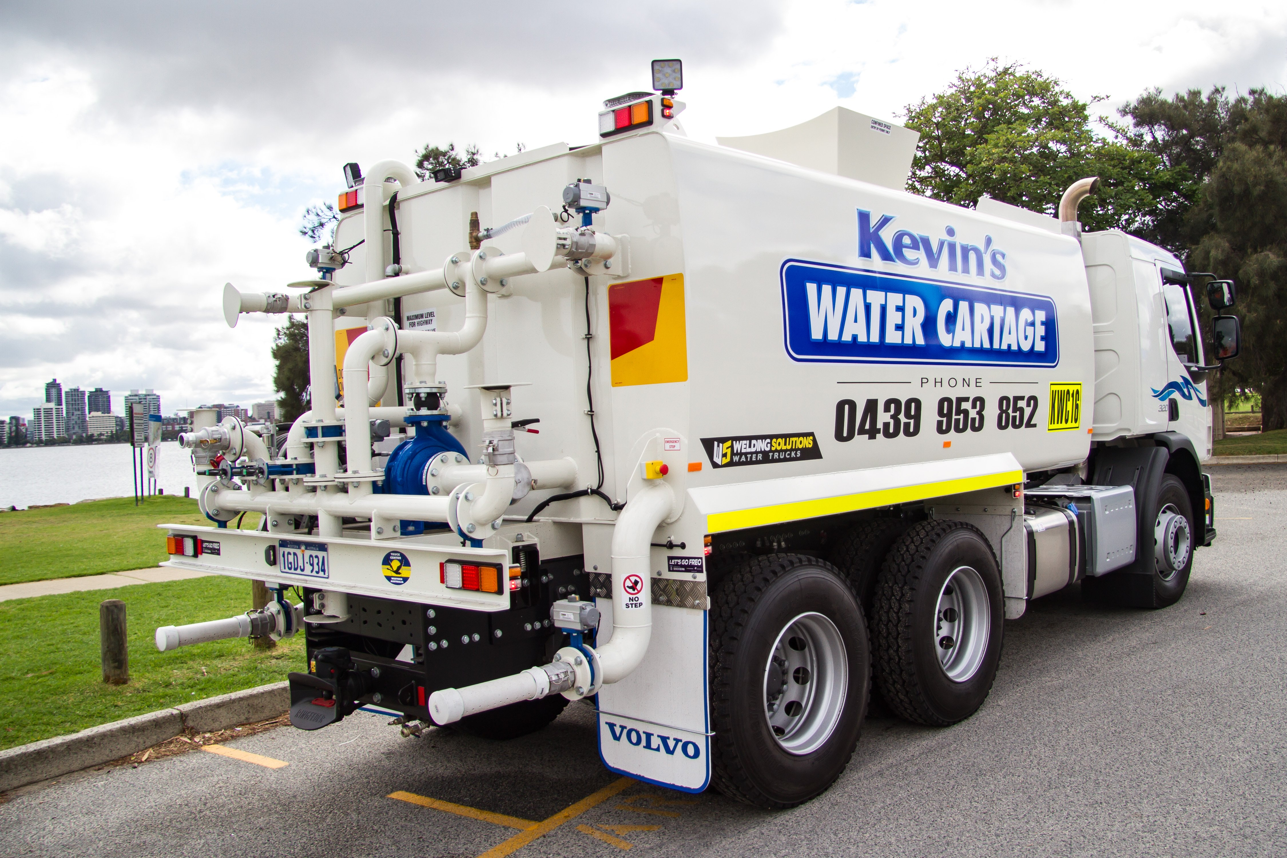reliable water delivery western australia