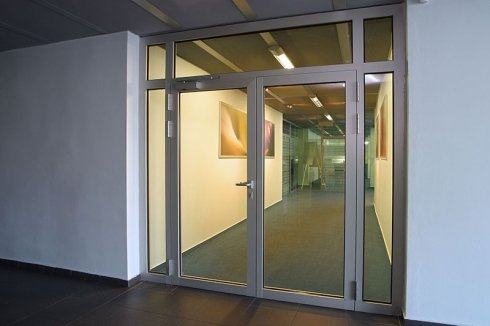 Fireproof  glass walls