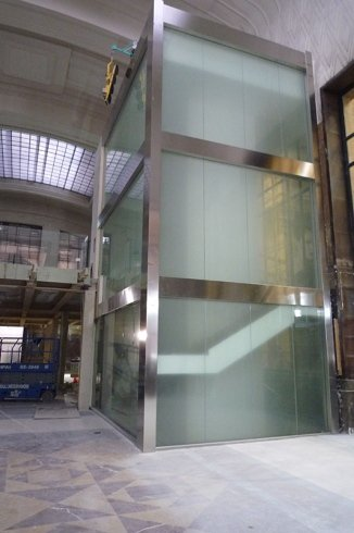 Structure en verre