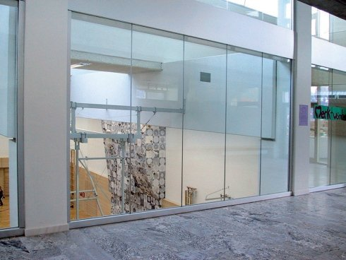 Fireproof glass panes