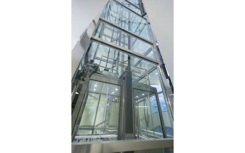 produzione ascensori vetro