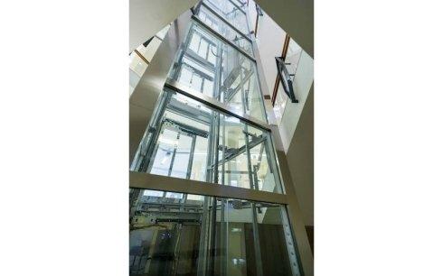 progettazione ascensori vetro