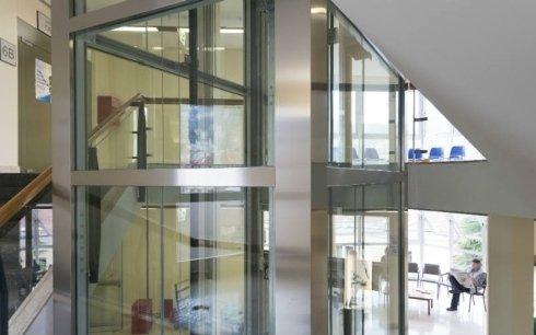 ascensori vetro Picco & Martini