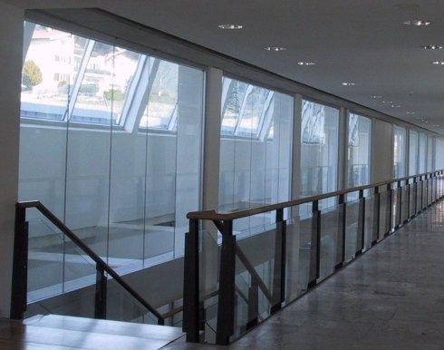 Structures en verre