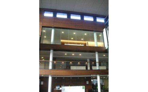 strutture in vetro per uffici