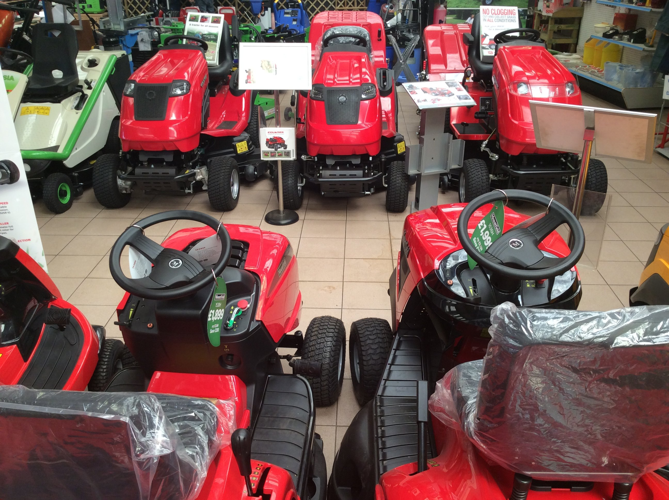 garden mowers for sale