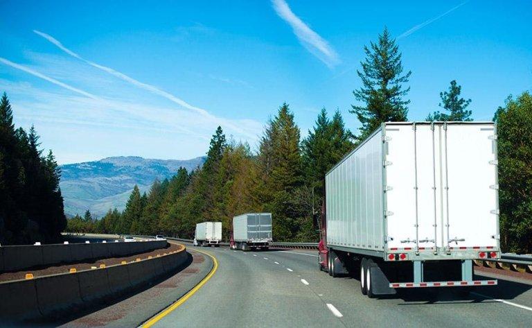 trasporto merci su gomma