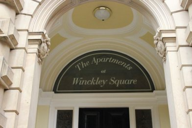 The apartment at Winckley Square