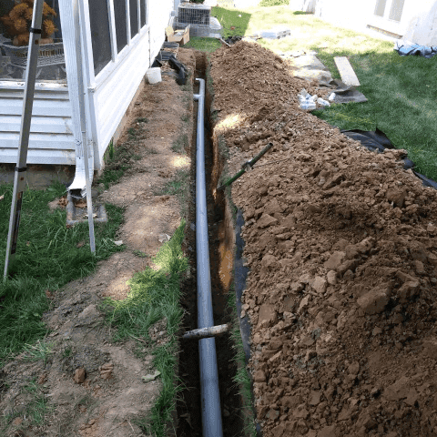Drainage solutions in St. Peters, MO