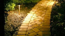 Pathway Lighting, Previous Project of landscapes built by professionals in ST Charles & ST Louis, MO