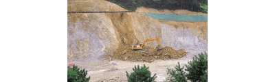 fallon excavations earth mover rocks