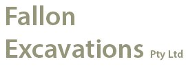 fallon excavations logo