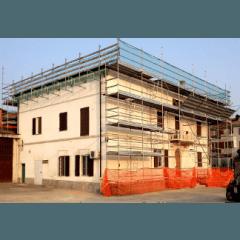 ponteggio per edifici