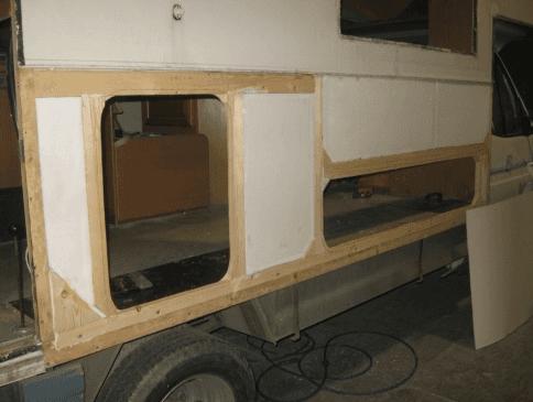 riparazione camper