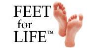 Feet for life logo