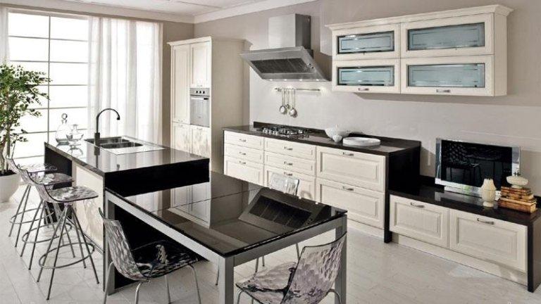 cucine e living classico