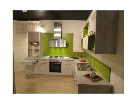cucina verde Nobilia