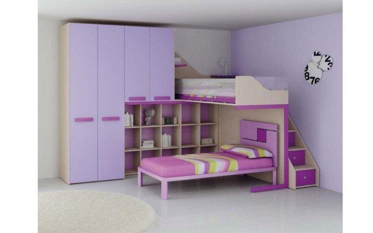 camera bambini viola