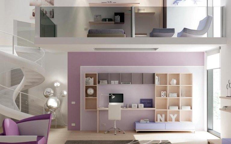 Arredissima torino divano con libreria with arredissima - Comodini per camerette ...