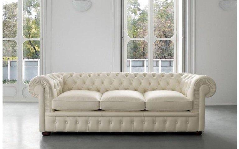 divano elegante pelle