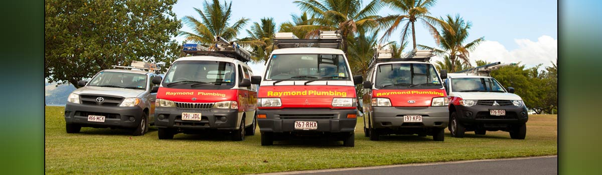 raymond plumbing plumbers vehicles
