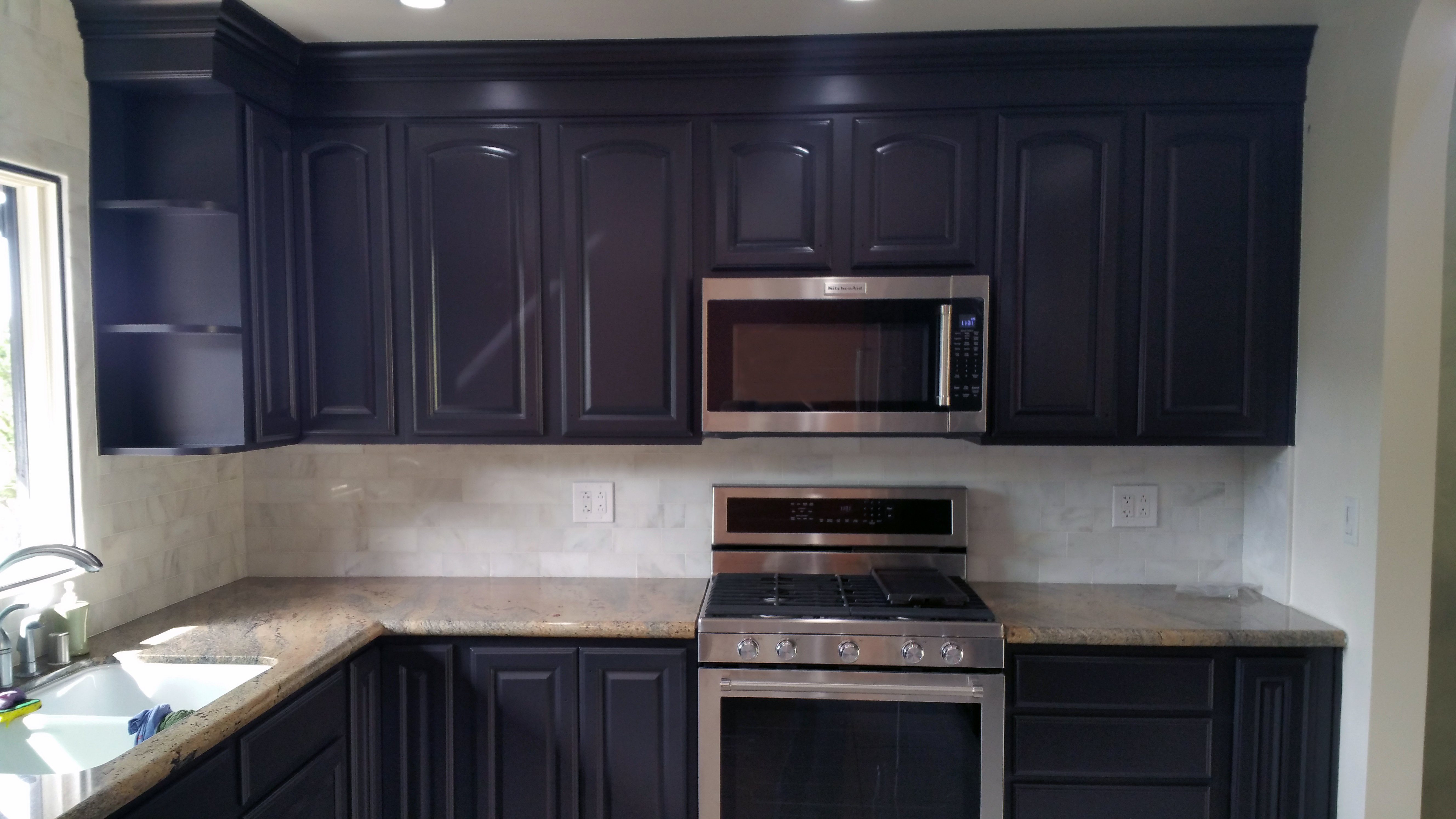 cabinet refinishing, cabinet painting