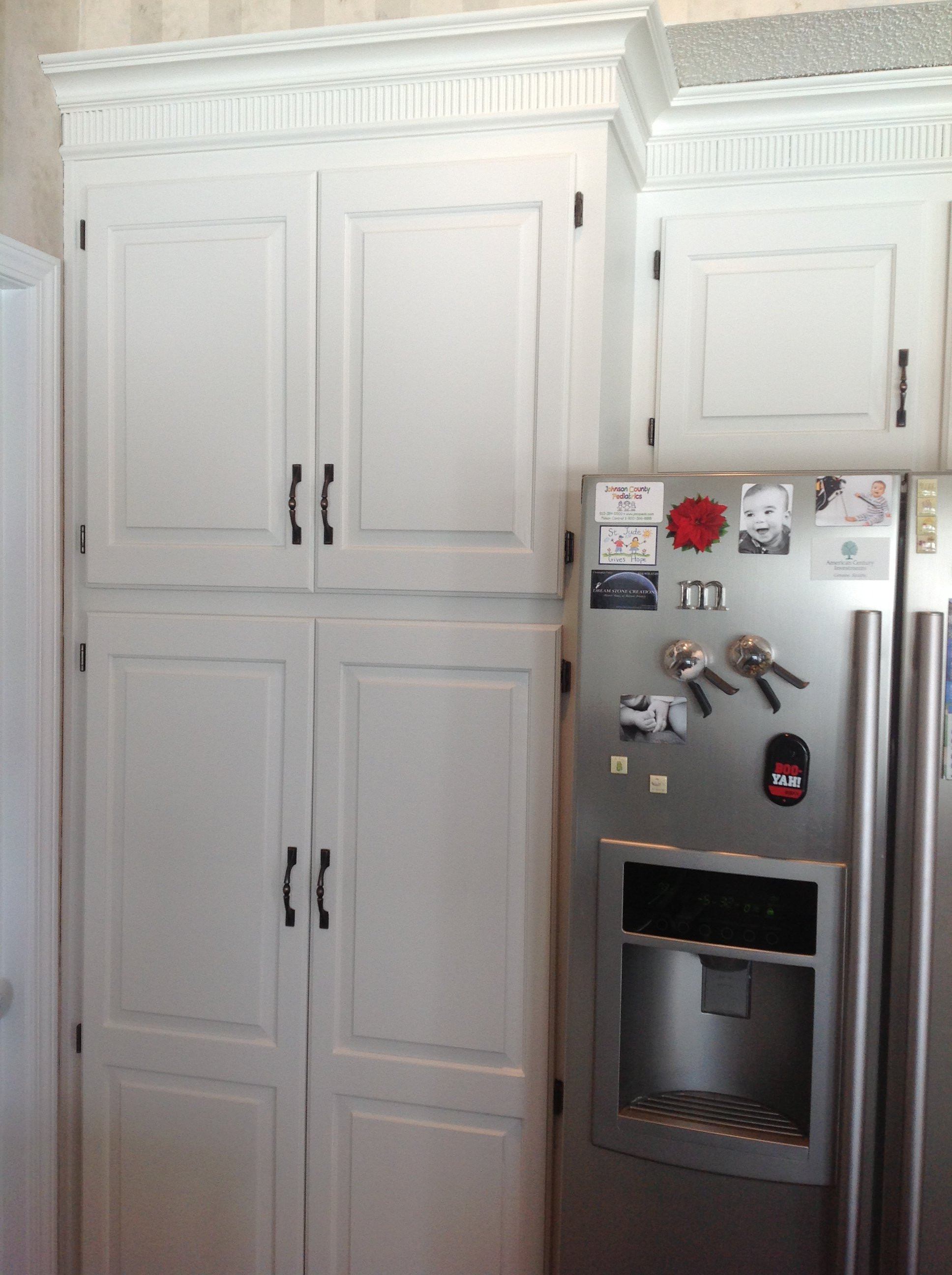 cabinet painting, cabinet refinishing